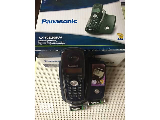 Продаю Цифровой беспроводный  телефон PANASONIC КХ-TXD205UA, АОН, cтандарт DECT- объявление о продаже  в Киеве