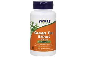 Антиоксиданты NOW Foods Green Tea Extract 400 мг - 100 веган капс(815925)
