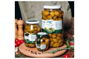 Большие итальянские оливки 314 мл