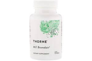 Бромелайн MF, M.F. Bromelain, Thorne Research, 60 капсул