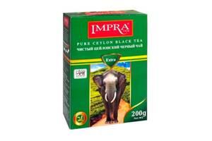 Чай Impra BOP1A-C Extra Pure Ceylon Black Tea Green (БОП1 екстра), цейлонский, 200 г