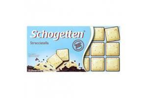 Черный с белым шоколадом «Страччателла» Schogetten Stracciatella 100г