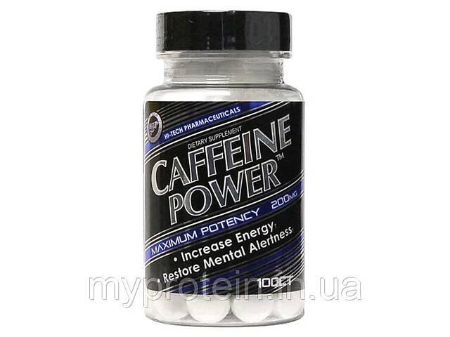 купить бу Кафеин Hi-tech pharma Caffeine Power™ 200mg, 100 tab Art. mypr-399379203 в Киеве