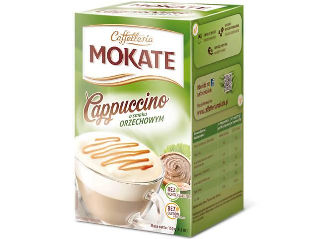 бу Капучино Mokate Сaffetteria Cappuccino Hazelnut 10х15 г (26.105) в Киеве