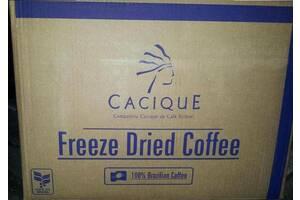 Кофе растворимый сублимированный Cacique(касик), Бразилия