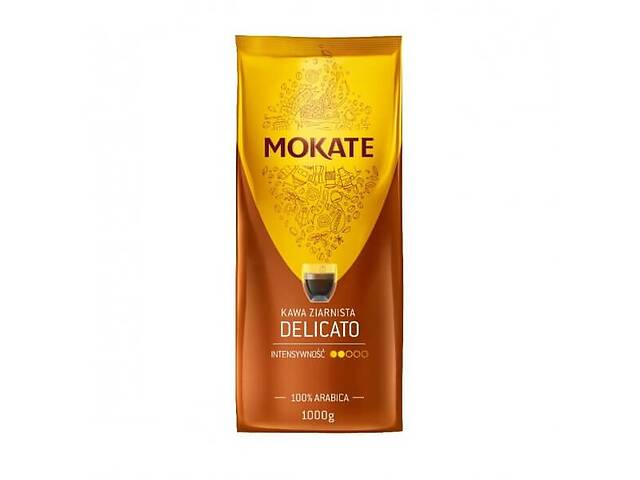 купить бу Кофе в зёрнах Mokate Delicato, 1 кг в Киеве