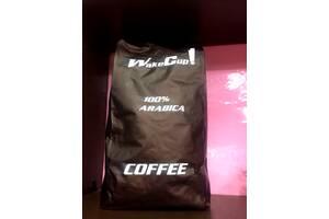 Кофе в зернах свежей обжарки