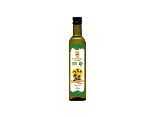 Масло подсолнечное Elit Phito органическое 500 мл (hub_VYOr92998)- объявление о продаже  в Киеве