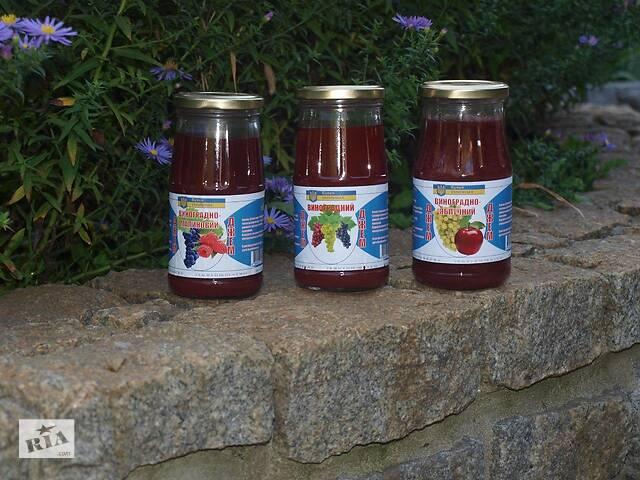 продам НАТУРАЛЬНЫЙ виноградный, виноградно-малиновый, виноградно-яблучный джем бу в Запорожье