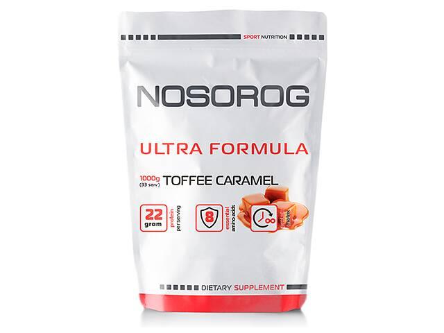 купить бу Nosorog Ultra Formula тоффи-карамель, 1 кг в Мариуполе