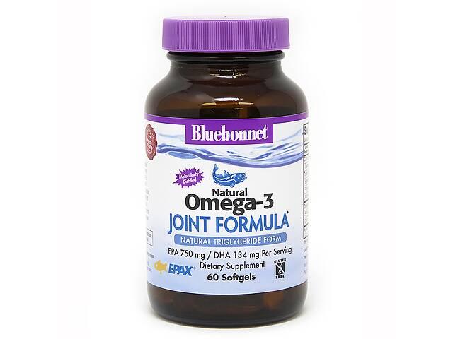 купить бу Омега-3 Формула для суставов Bluebonnet Nutrition Joint Formula 60 желатиновых капсул в Киеве