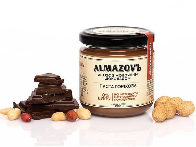 продам Паста арахисовая с молочным шоколадом Almazovъ 200г бу в Кривом Роге