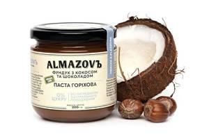 Паста фундук с кокосом и шоколадом Almazovъ 200г