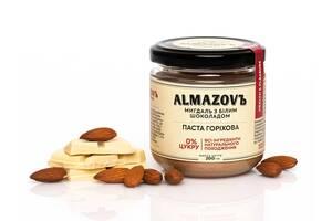Паста ореховая миндаль с белым шоколадом Almazovъ 200г