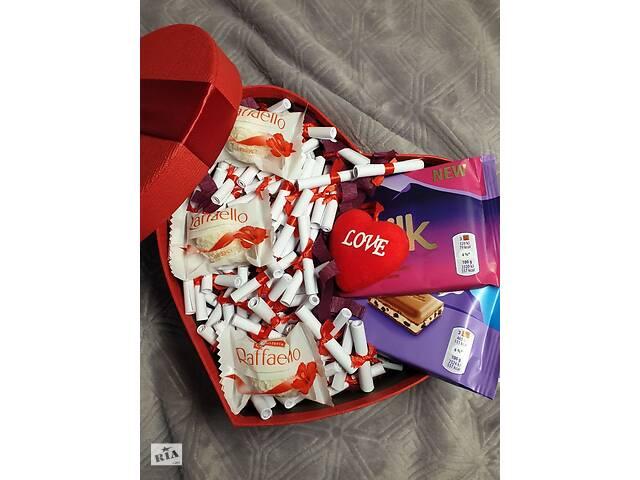 Подарочный Набор Бокс для любимой девушки женщины жены со сладостями- объявление о продаже  в Ровно