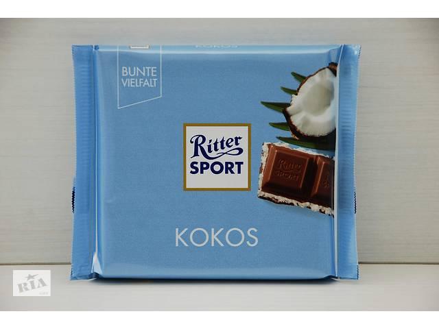 продам Шоколад Ritter Sport Риттер Спорт (Германия) 100g бу в Ровно