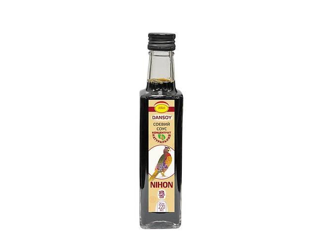 Соевый соус DanSoy Nihon 220 мл (soysaucenihon220ml)- объявление о продаже  в Киеве