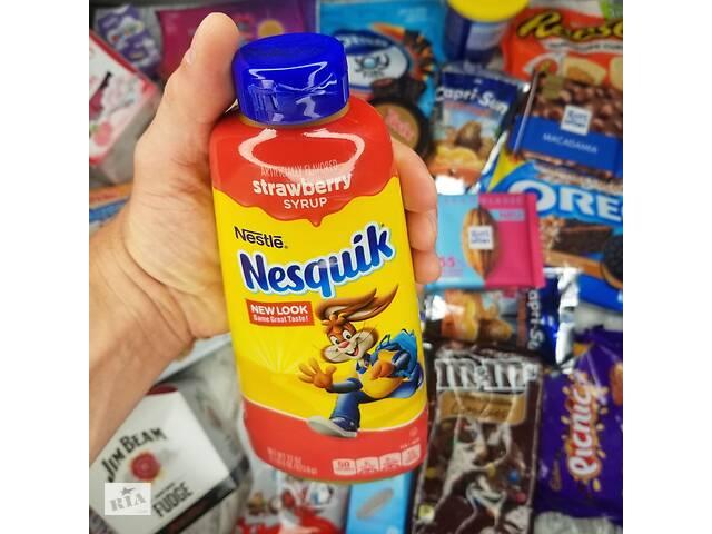 купить бу Сироп Несквик (клубника, шоколад) - от магазина ShokoStyle в Мелитополе