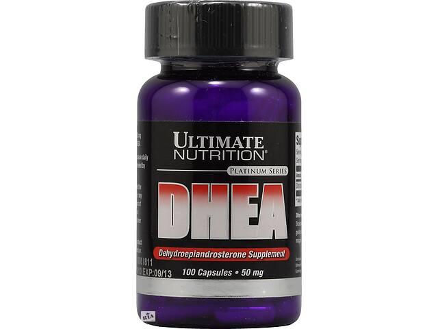 бу Тестостероновый бустер Ultimate Nutrition DHEA 50 mg, 100 капс (104700) в Полтаве