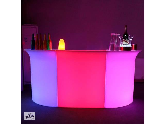 Прокат аренда светящейся светодиодной Лед LED мебели- объявление о продаже   в Украине