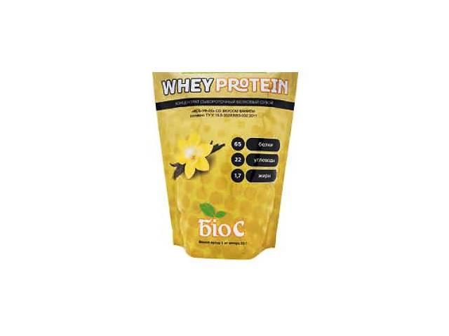 купить бу Протеин БИОС концентрат сироваточно-білковий сухий 65% ваниль1 kg в Мариуполе (Донецкой обл.)