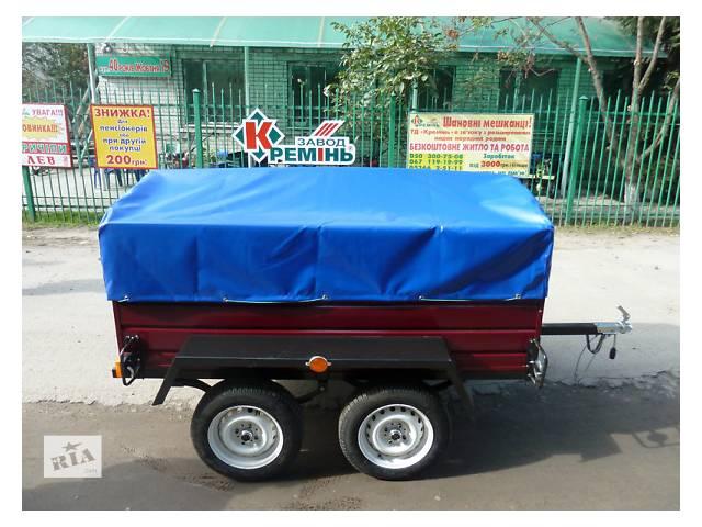 продам Прицеп Лев-210 двухосный, длина 2,1м бу в Полтавской области