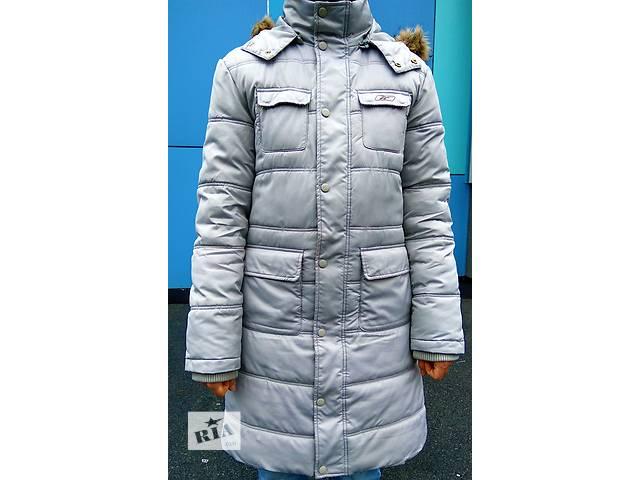 продам Удлиненная зимняя женская куртка Reebok бу в Киеве