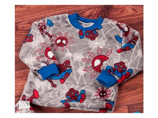 Пижама мальчику теплая велсофт, рост 134- объявление о продаже  в Полтаве
