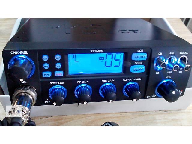 Радиостанция CB TTI TCB-881 12/24V ASQ AM/FM- объявление о продаже  в Львове