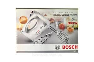 Миксер Bosch MFQ 3010 с венчиками и крюками для теста (Словения)