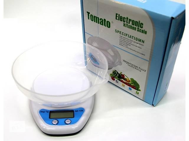 Весы кухонные электронные с чашей, 5 кг- объявление о продаже  в Полтаве