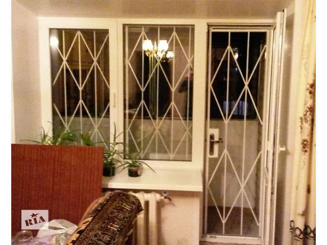 Решетка на балконную дверь Киев