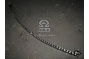 Рессора передняя 2 листовая с сайлентблоками ГАЗ 3302 укор. ухом 1500 мм с (пр-во ЧМЗ, г. Чусовой)
