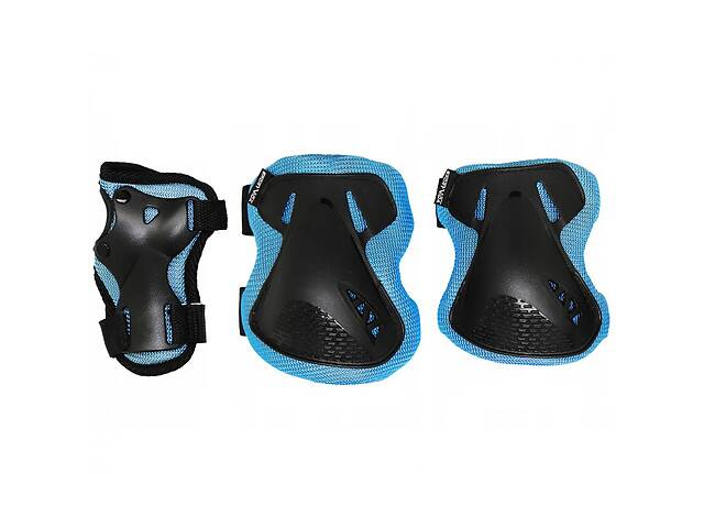 Комплект захисний SportVida SV-KY0005-M Size M Blue/Black- объявление о продаже  в Києві