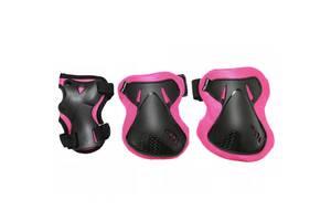 Комплект защитный SportVida SV-KY0006-L Size L Black/Pink
