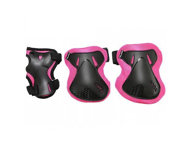 бу Комплект захисний SportVida SV-KY0006-L Size L Black/Pink в Києві