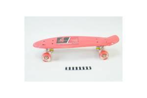 Скейт Profi Penny Board 0848 - 2, красный