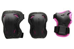 Защита Rollerblade BladeGear Combo (Черно-розовый, S)