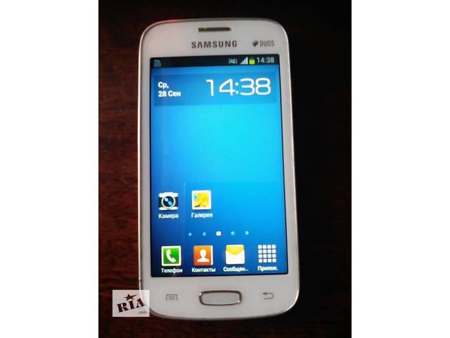 купить бу Samsung Galaxy Star plus S7262 white в Запорожье