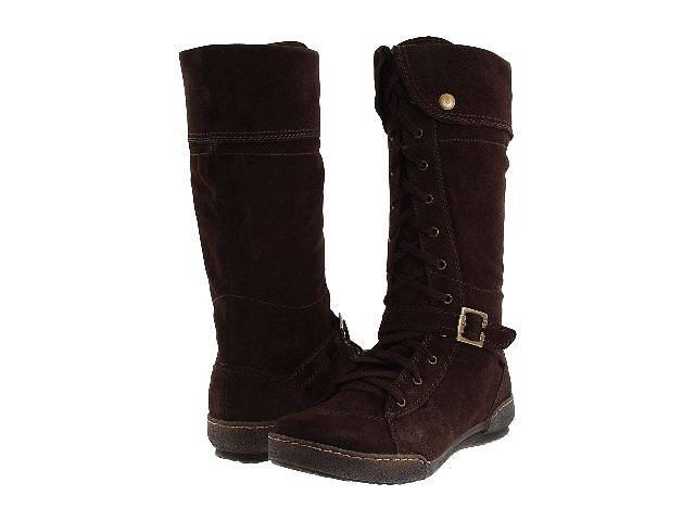 Сапоги  женские зимние замшевые новые коричневые  р. 41(US10)- объявление о продаже  в Новой Каховке
