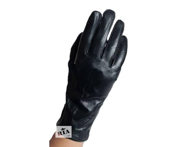 Сенсорные кожаные перчатки, женские, модель 3- объявление о продаже  в Киеве
