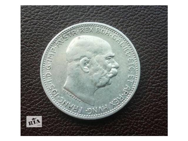 Серебро ! Монета 1 корона 1912 год.Австро-Венгрия, для Цислейтании - объявление о продаже  в Николаеве