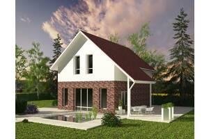 3D визуализация экстерьера (внешнего вида) дома