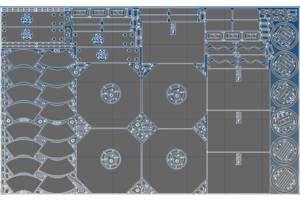 чертеж для раскроя металла dxf для чпу cnc