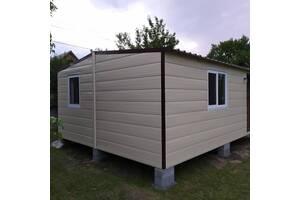 Дачный модульный дом 6*4,8 m