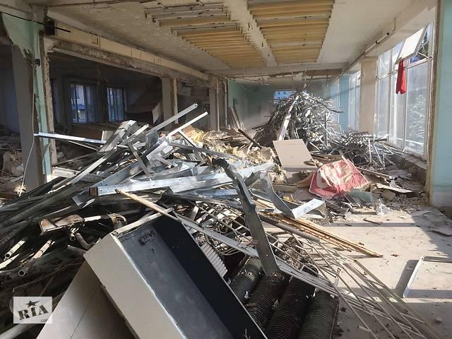 купить бу Ручной демонтаж зданий, демонтажные работы  в Украине