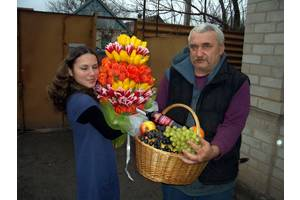 Доставка квітів та подарунків