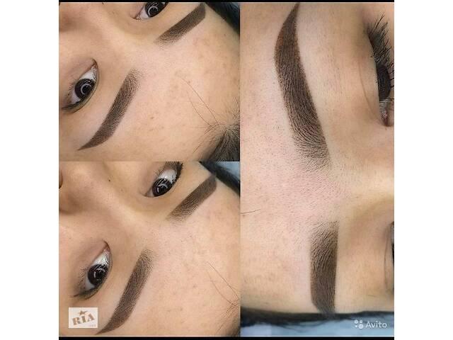 Обучение Татуаж Перманентный макияж Микроблейдинг Пудровые брови
