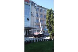 Услуги (аренда) автовышки 27 метров, 200 кг на базе Mercedes Atego