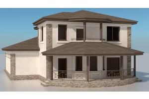 Проект двухэтажного жилого жома 2КЖ-2